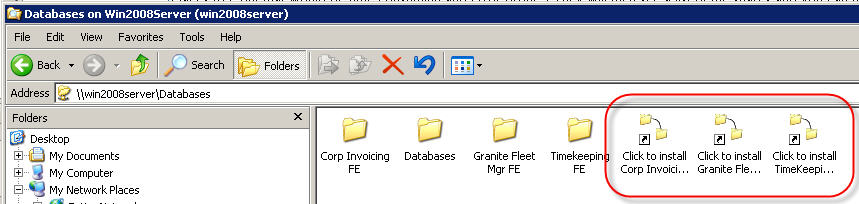 User Install - Windows Explorer